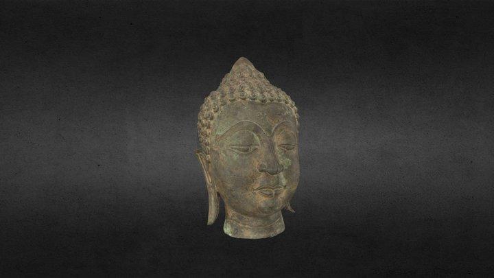 Thai Statue 3D Model