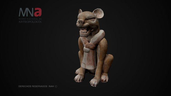 Gran Jaguar, Monte Albán, Oaxaca 3D Model