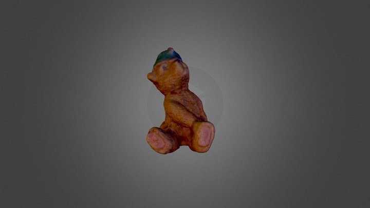 Bear Scan (low-res) 3D Model