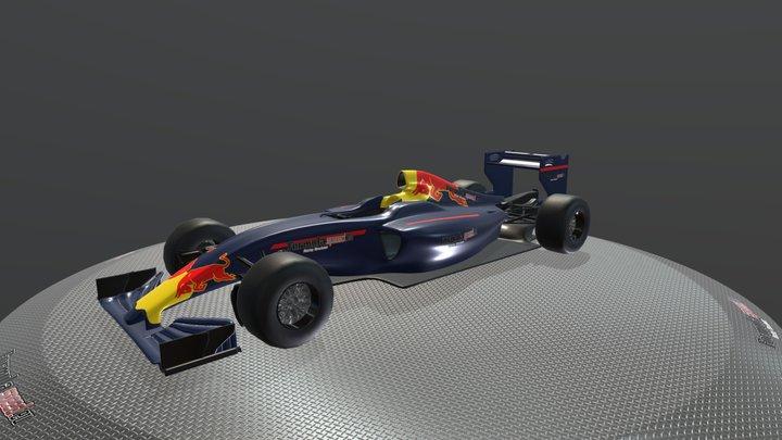 Red Bull Showcar - Formulaspeed 3D Model
