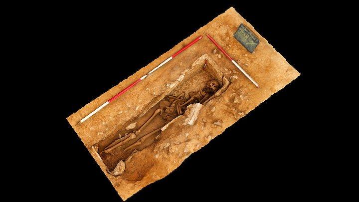 Roman Sarcophagus, near Dorchester, Dorset 3D Model