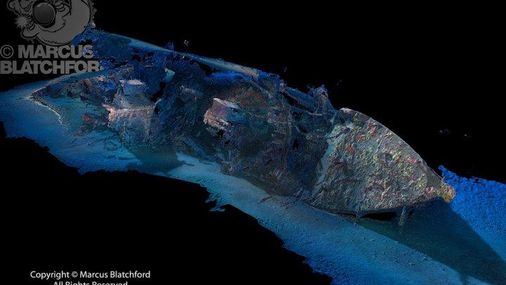 HMS Southwold (bow) 3D Model