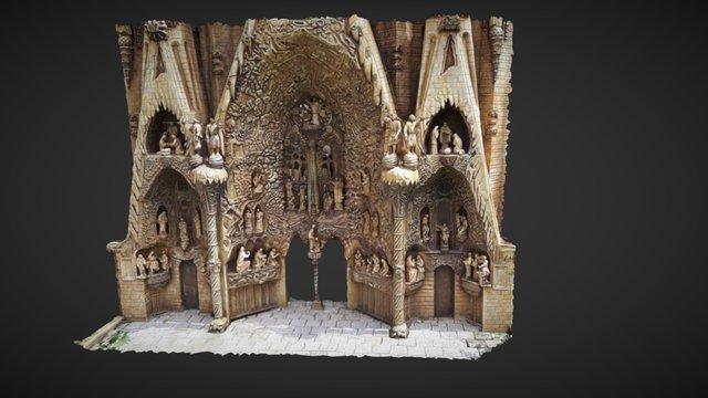 Sagrada Familia, Portal 3D Model