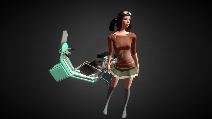 Suwit-suwit 3D Model