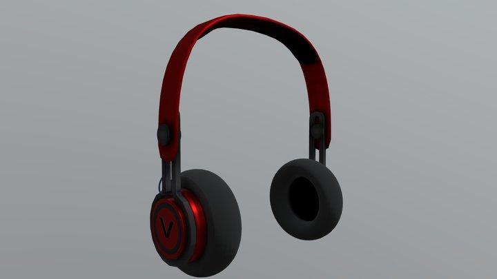 Headphones V 3D Model