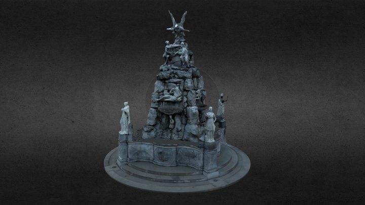 Fontana Dei Quattro Continenti - PhotoScan Tuto 3D Model