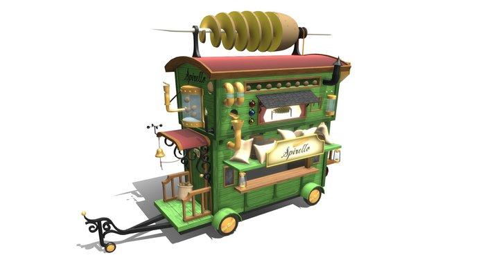 Cartoon kar 3D Model