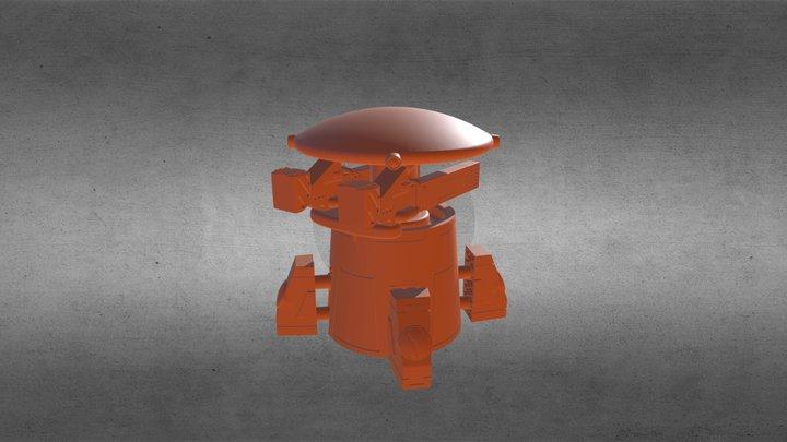 Drone Senctuary Tower 3D Model