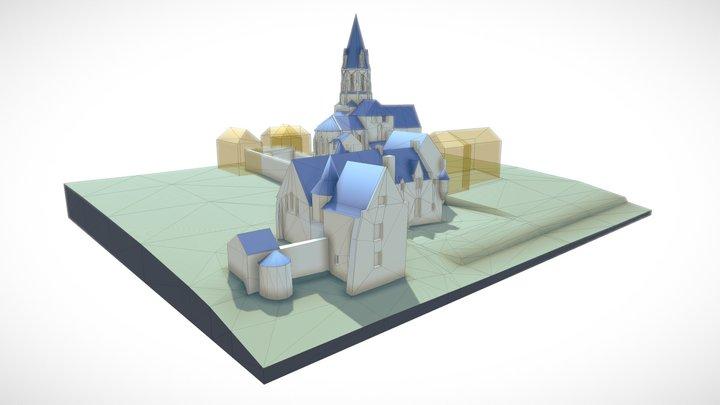 St-Remy 3D Model