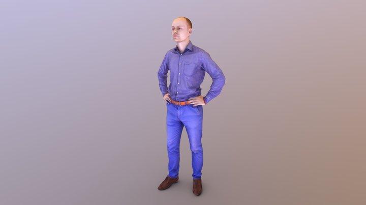 Ruslan 3D Model