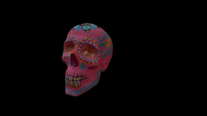 Mexican skull 3D Model