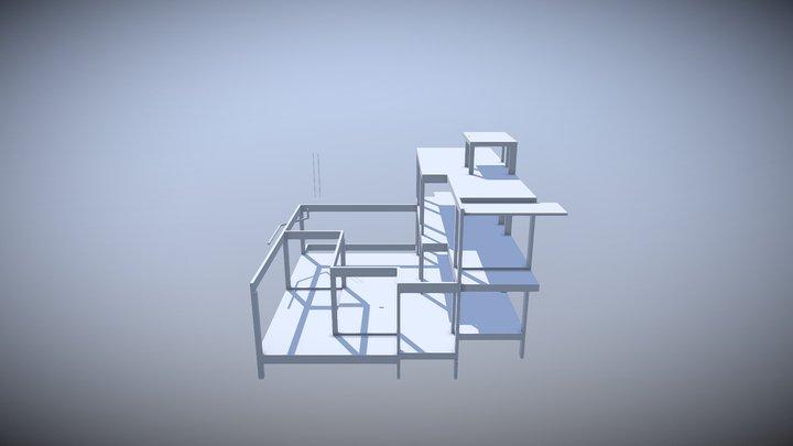 VIDEL ESTRUTURA 3D Model