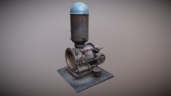 Mosi machine - photogrammetry capture 3D Model