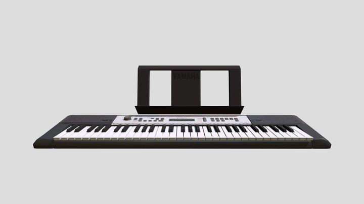 Yamaha Keyboard 3D Model