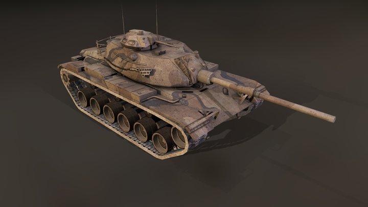 M60A3 3D Model