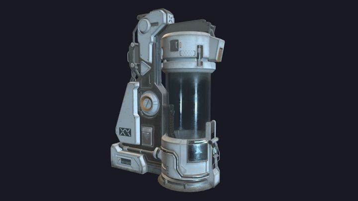 Recovery Capsule 3D Model