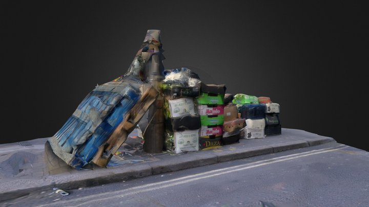 Rye Lane Boxes 3D Model