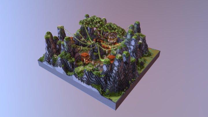Prison Mine 3D Model