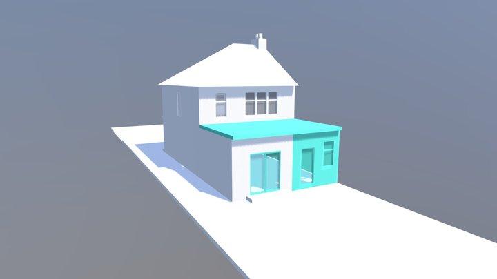 1256 - 40 Kipling Terrace London N9 9UJ 3D Model