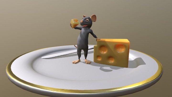 Mouse 3D Model