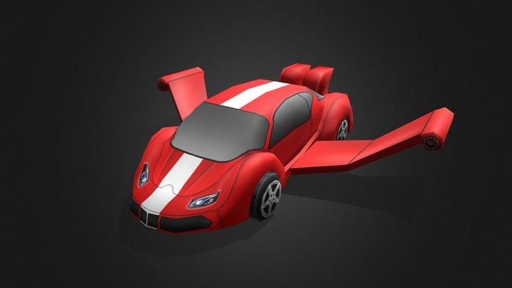 car_RED 3D Model