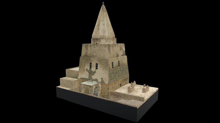 3D model Imam Avnudinn - Mosul 3D Model