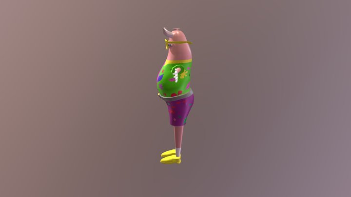 Sausage Boss 3D Model
