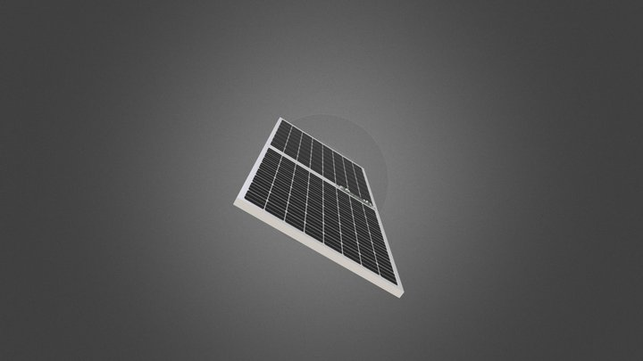 Deno with solar panel 3D Model