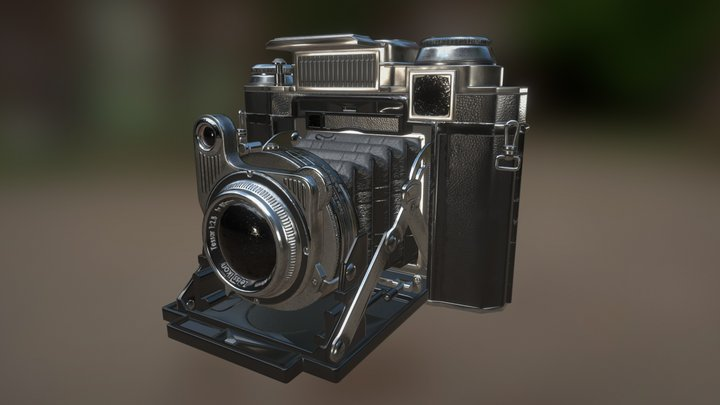 Foldable camera 3D Model