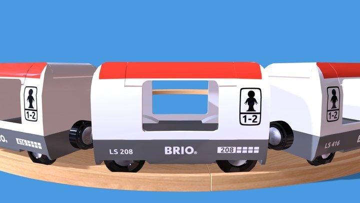 Brio Reisezug 3D Model
