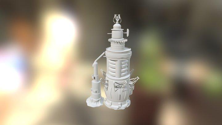 Eon Tower 3D Model