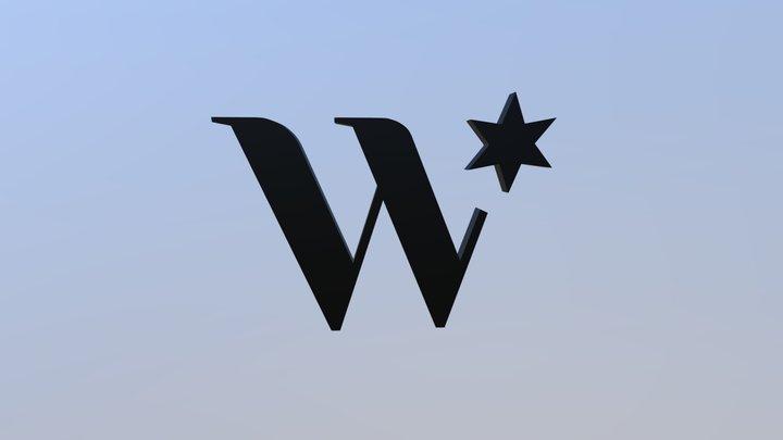 Weinstern Logo 3D Model