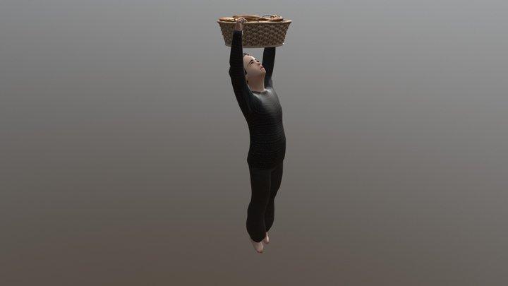 Bambino Rivolta Del Pane 3D Model