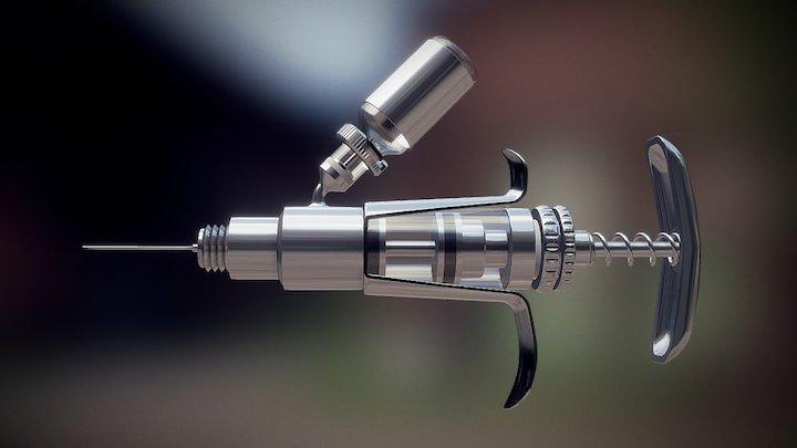Syringe 3D Model