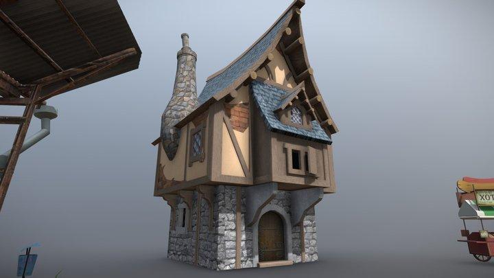 DraftPunk_HW9 3D Model