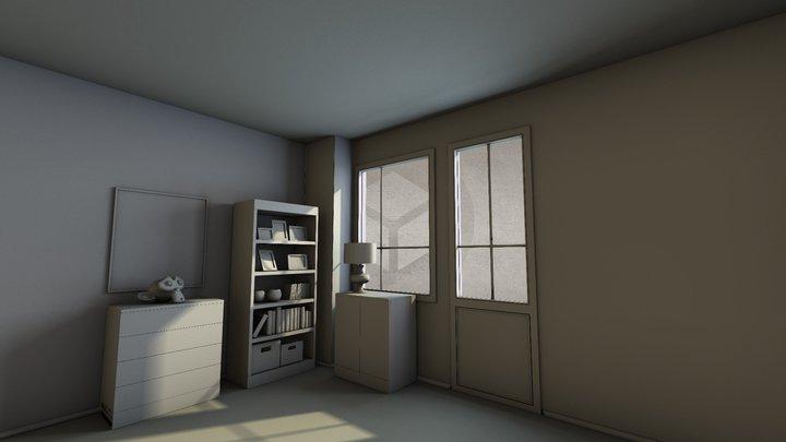 bake test 3D Model