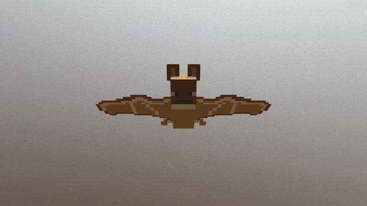 Minecraft Bat 3D Model