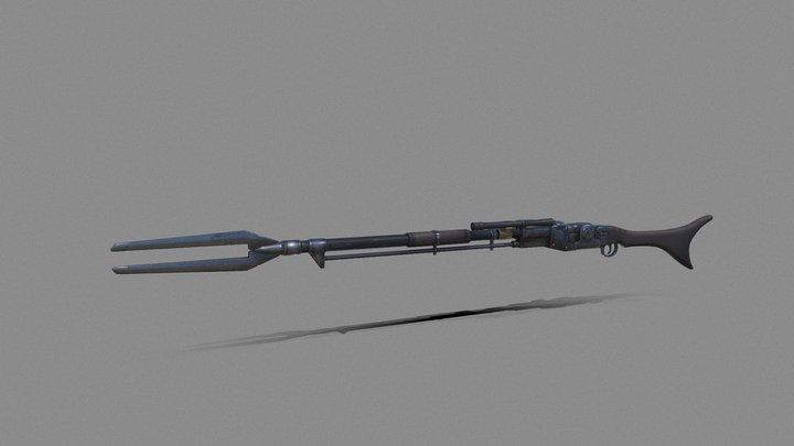 Mandalorian Rifle 3D Model