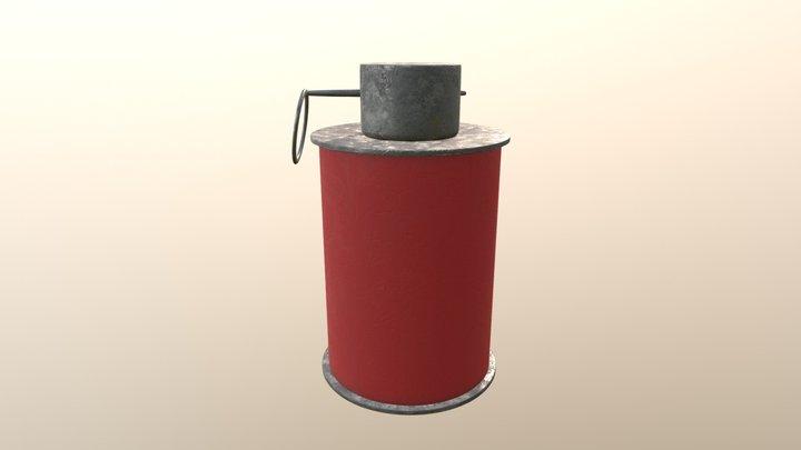 Grenade - Low Res 3D Model