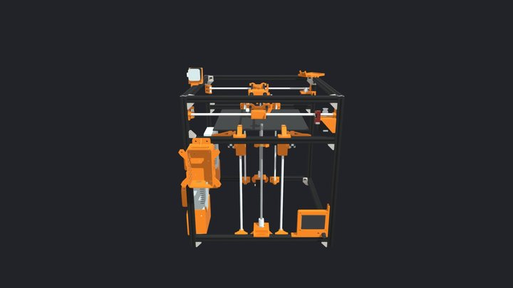 Parallelepipod - 3D printer 3D Model