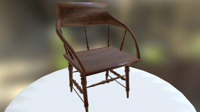 Western Chair 3D Model
