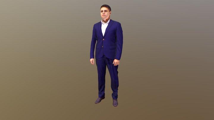 Sergey 3D Model