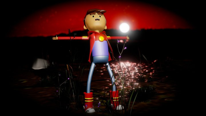 Bravest Warriors - Danny Vasquez 3D 3D Model