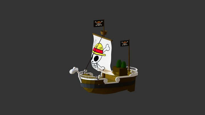 Going Merry [unfinished] 3D Model