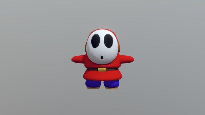 Shy Guy 3D Model