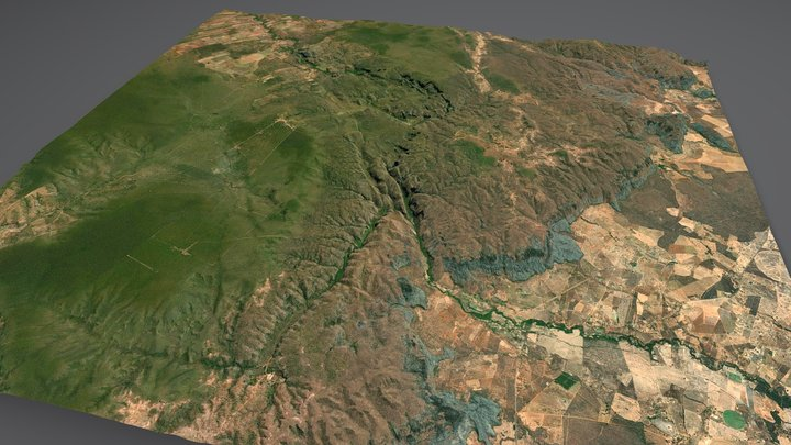 Cavernas do Peruaçu National Park 3D Model