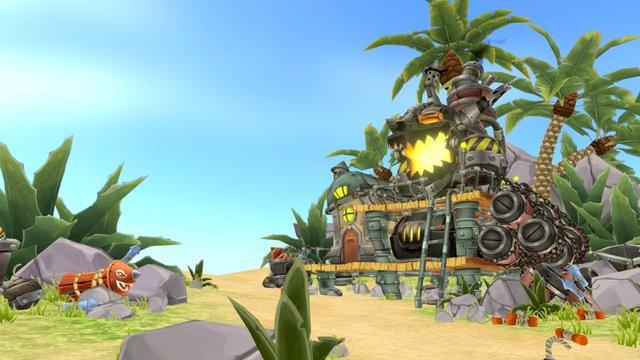 Goblin Bomb Factory - Full Panorama 3D Model