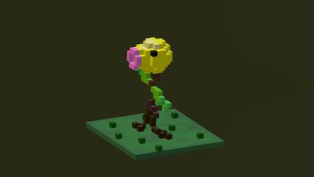 Bellsprout 3D Model