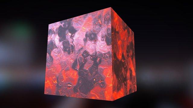 Material - Lava 3D Model