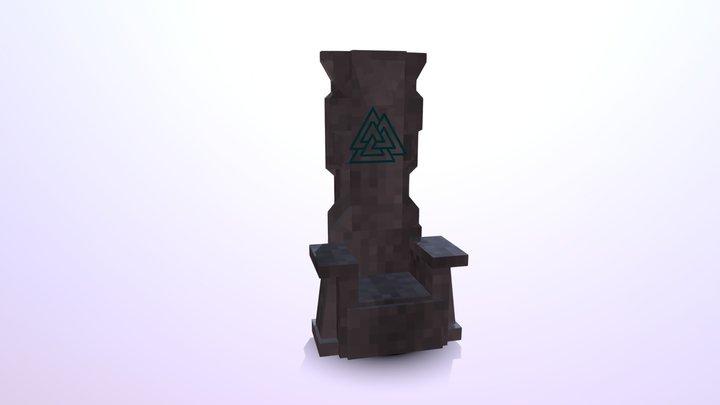 Trone 3D Model